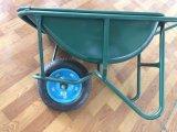 Wheelbarrow Wb2204-1 para a construção com capacidade de 5 Cbf