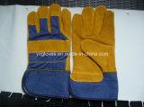 Коровы Glove-Working Glove-Labor Glove-Safety Split кожаные перчатки
