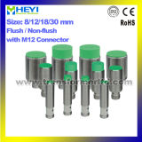 Plug in Proximity Sensor (LJ8A3, LJ12A3, LJ18A3, LJ30A3) Series with M12 Connector Inductance Metal Sensor Without Cable