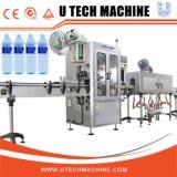Manchon rétractable automatique de l'étiquetage de la machine pour les bouteilles de boissons