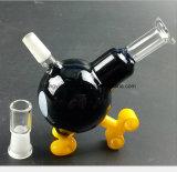 Форма утки трубы 3.9 дюймов стеклянная рециркулируя трубу дыма фильтра