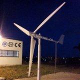 Casa de 1kw generador eólico de la turbina eólica turbina con hojas de plástico reforzado con fibra para la Energía Eólica