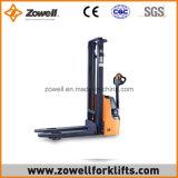 Impilatore elettrico con 1.2 altezza di sollevamento di capienza di caricamento di tonnellata 2.5m