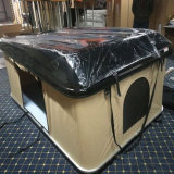La carpa de lona de Toldo de fibra de vidrio de la azotea de Camping Car tienda