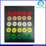 Kleur vijf kiest de Markering van het Oor RFID voor Dier