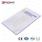 Writabe und lesbare Hf+UHF RFID Zweifrequenzkarte