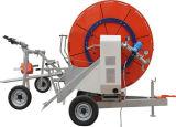 Полив заграждения вьюрка шланга турбины воды