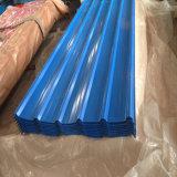 Color RAL proveedora Oro Prepainted Hoja de techado de galvanizado