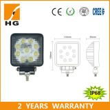 4.6inch CER Approved Square 27W LED Work Light für Offroad