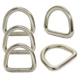 SS304 en SS316 Roestvrij staal Metal Removable D Ring