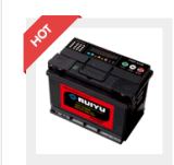 12 V DIN75 密閉 MF カーバッテリー