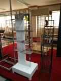 주문을 받아서 만들어진 정밀도 전시 걸이 Poawder 입히는 금속 제작 부속 (방적공 선반)