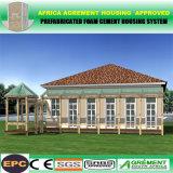 Casa de alojamento modular do recipiente pré-fabricado Prefab do escritório da cabine do bloco liso
