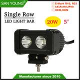 5pouce 20W à LED CREE LED feux de travail de la conduite VOYANT LED en barre de feux de brouillard