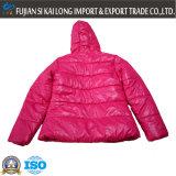 Revestimento de ventosa de peso leve para mulheres com roupas de inverno para inverno