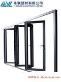 6063 T5 Le dessin du client porte en aluminium de pliage