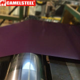 Lamiera di acciaio galvanizzata ricoperta colore per lo strato del tetto