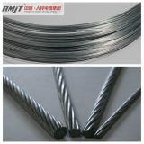 高い抗張電流を通された鋼線の繊維のガイワイヤー滞在ワイヤー