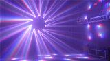 새로운 6X15W 꿀벌 눈 단계 광속 빛 LED 이동하는 맨 위 점화