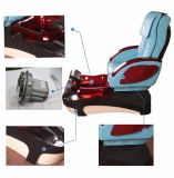 Massagem Manicure Pedicure cadeira (B501-51-D)