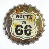 Горячим печатание знака олова пива конструкции крышки бутылки сбывания изготовленный на заказ выбитое Pub