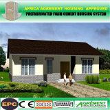 L'acciaio chiaro professionale ha prefabbricato l'acciaio liberato di/casa/villa moderne dell'azienda agricola