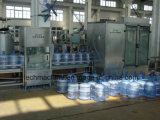 Macchina di coperchiamento di riempimento di lavaggio della bottiglia di acqua automatica da 5 galloni