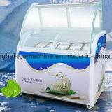 Showcase frigorífico/porta de vidro Sorvetes Exibir Freezer/freezer para sorvetes