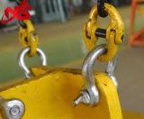 Отверните болт крепления стального троса типа Anchor серьге