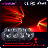 New Spider 8 Eye Bar 8 * 12W Full Color LED Spider Beam Moving Head Light