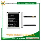 Batterie authentique pour téléphone cellulaire original 2600mAh B600bc pour Samsung S4 I9500