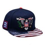習慣6のパネル3Dの刺繍の急な回復の帽子