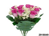 Rosebud artificiale/di plastica/di seta Bush (2918049) del fiore
