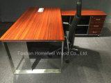 Самомоднейший l стол менеджера форменный офиса 0Nисполнительный с бортовой таблицей (HF-LTA166)