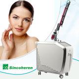ND YAG Laser a pigmentação da pele de remoção de tatuagens Mole Máquina de remoção
