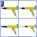 Pistola a spruzzo elettrostatica gialla del rivestimento della polvere di Kci