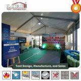 De kleine Tent van de Gebeurtenis met het Embleem van de Druk, Kleurrijke Tent voor Verkoop