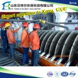 La Deshidratación de relaves, el vacío del filtro de cerámica de disco, experiencia exportadora a Corea