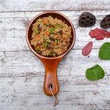 Bol en bois en bois de hêtre massif Salade créative Kimchi Bol en bois Bol en poulet