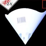 Filtrador da pintura de decantação de papel, papel do cone de papel filtro