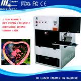 Gravierfräsmaschine Kristalllaser-3D für Weihnachtsgeschenk-Gravierfräsmaschine-Preis