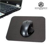 Stuoia reale del mouse della fibra del carbonio del regalo di promozione degli accessori di calcolatore