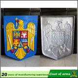 Abitudine 3D Ruanda Metal Emblem