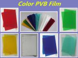 Película da cor vermelha 0.38mm PVB para o vidro laminado decorativo de Architectrual