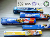 Emballage de nourriture de papier d'aluminium avec 8011-0 12 microns de largeur de 295mm