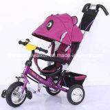 Nuovi tre bambini di spinta della mano della rotella/capretti/tricicli del bambino