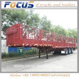 Semi Aanhangwagen van de Lading van de Prijs van China de Goedkope met ZijStaak voor Verkoop