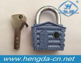 Yh9212 Mini Segurança de Bagagem Cadeado de liga de zinco / 4 cadeado de chave de design de casa