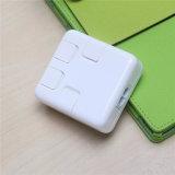 Cartuchos USB de porta múltipla de alta qualidade Carregador USB inteligente de 4 portas 5V DC Jack