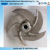 Moulage de moulage en acier de l'investissement le rotor de pompe centrifuge